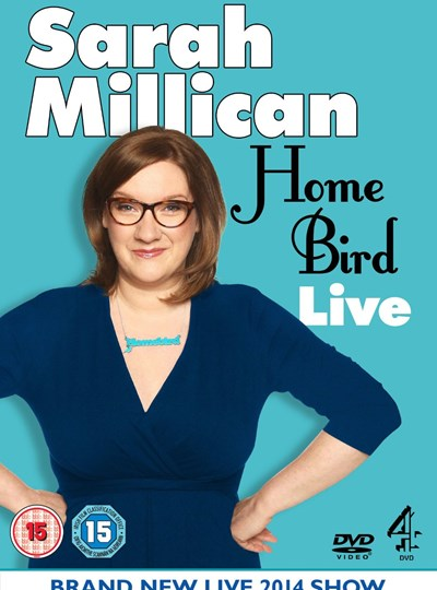 Sarah Millican: Home Bird Live (available in-store from 17 November)