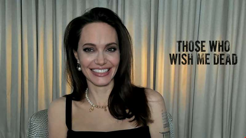 Angelina Jolie and Medina Senghore open up about making new thriller Those Who Wish Me Dead...