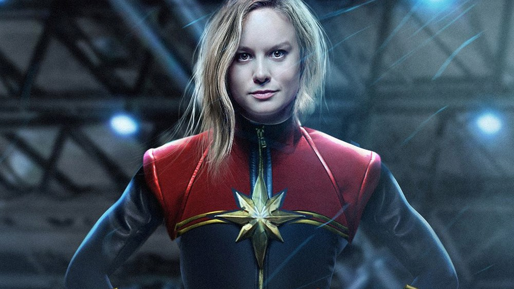 Fiery new trailer for Captain Marvel debuts online