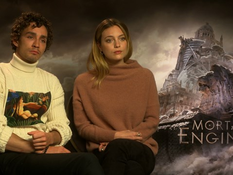 """The attention to detail is so incredible..."" - hmv.com talks to the cast & director of Mortal Engines"
