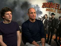 """We didn't want to do some schlock filler sequel..."" - Jesse Eisenberg and Woody Harrelson talk Zombieland 2"
