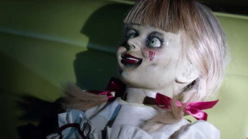 Watch the creepy new trailer for Annabelle Comes Home