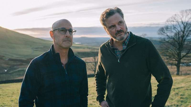 Stanley Tucci and Colin Firth lead the heartbreaking first trailer for Supernova