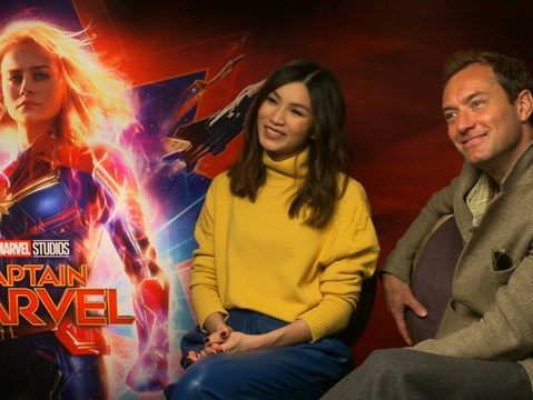 hmv.com talks to the cast & directors of Captain Marvel