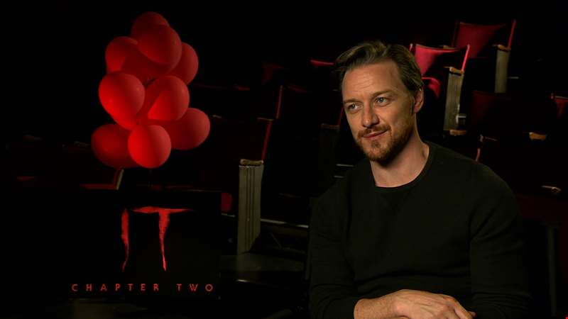 """It becomes a bit of a horror-action epic at the end..."" - hmv.com talks to James McAvoy about It Chapter Two"