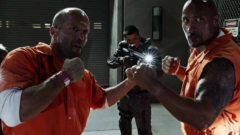 Get a first look at The Rock and Jason Statham in Fast and Furious Spin-off Hobbs and Shaw