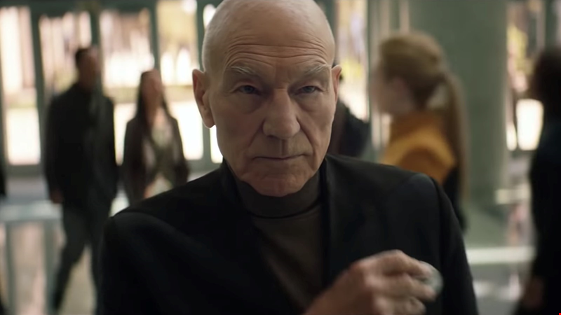 Watch the emotional first trailer for Star Trek: Picard