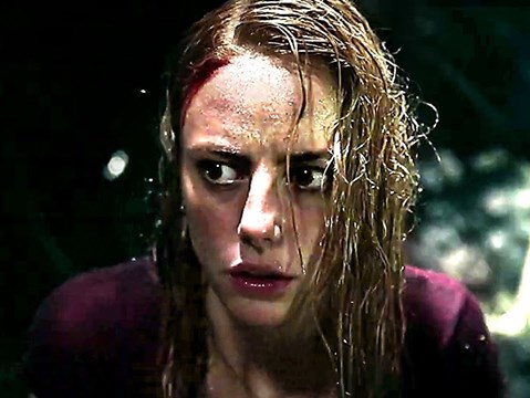 Kaya Scodelario battles crocodiles in the tense first trailer for new horror Crawl