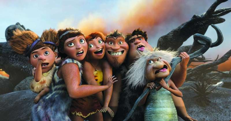 Nicolas Cage, Emma Stone and Ryan Reynolds lend their voices to the first trailer for animated sequel The Croods 2: A New Age