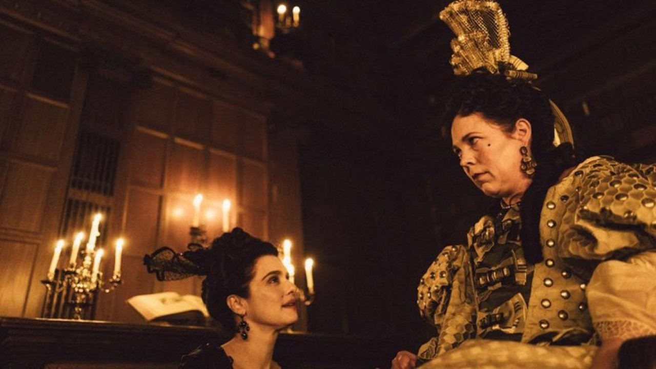 Emma Stone and Rachel Weisz lead the bizarre new trailer for The Favourite