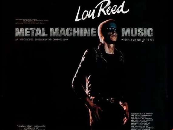 The artwork for Metal Machine Music