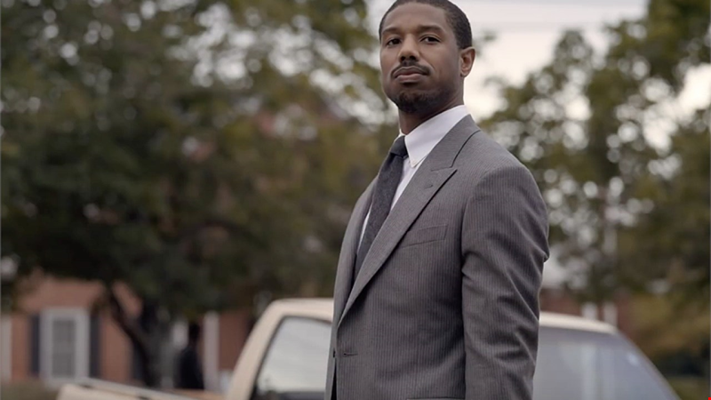 Michael B. Jordan and Jamie Foxx lead the hard-hitting first trailer for Just Mercy
