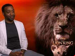 """I was completely astounded by what has been achieved, it's hard to get your head around..."" hmv.com talks The Lion King with Chiwetel Ejiofor"