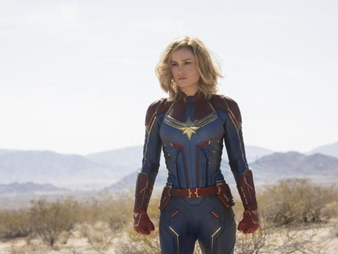 Spectacular new preview for Captain Marvel unveiled