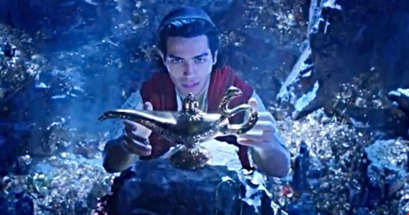 Watch the spectacular full trailer for Disney's live-action Aladdin reboot