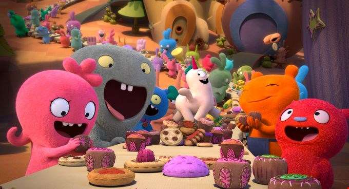 Kelly Clarkson, Charli XCX, Nick Jonas and more voice the colourful first trailer for UglyDolls