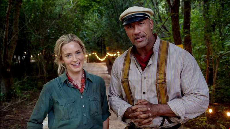 Emily Blunt and Dwayne 'The Rock' Johnson head on the adventure of a lifetime in the first trailer for Disney's Jungle Cruise