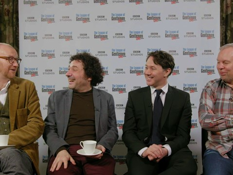 hmv.com talks bringing The League of Gentlemen back to the stage with Mark Gatiss, Jeremy Dyson, Reece Shearsmith & Steve Pemberton