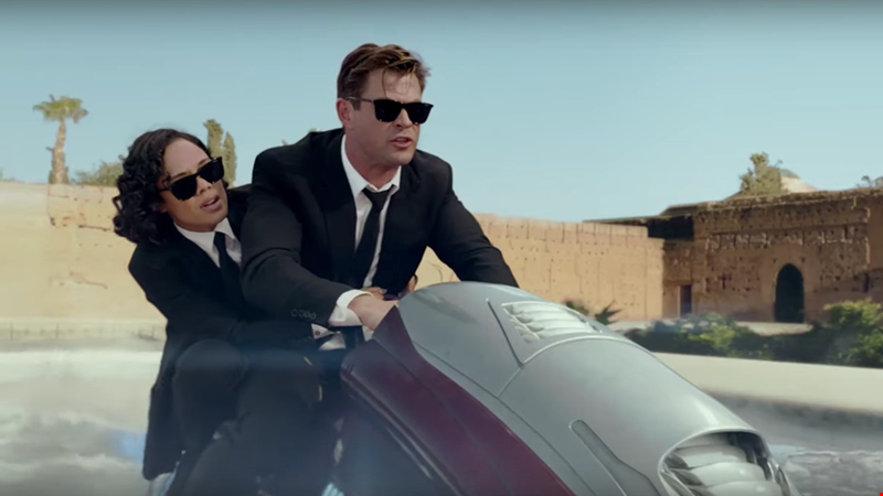 Watch the action-packed new trailer for Men In Black: International