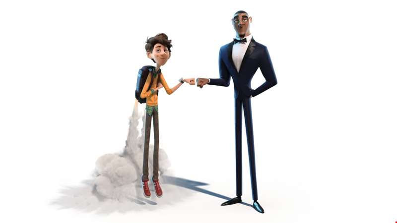 Will Smith and Tom Holland voice the slapstick new trailer for Spies In Disguise