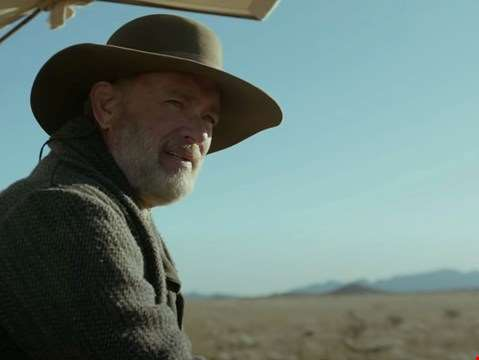 Tom Hanks is a man on a mission in the first teaser for new western News Of The World