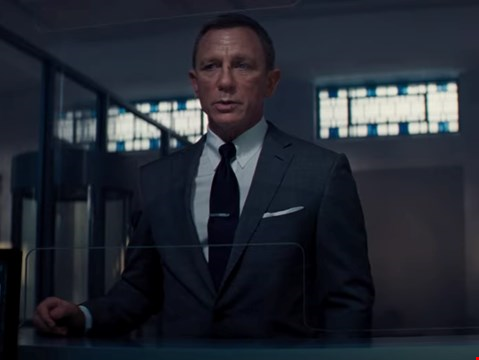 Explosive new look at James Bond movie No Time To Die debuts online