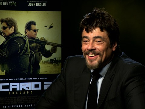 """My character does a 180 in this movie..."" - hmv.com talks Sicario 2: Soldado with Benicio Del Toro"