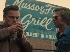 Watch the rip-roaring first trailer for Once Upon a Time in Hollywood