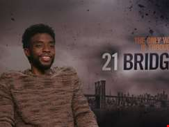 """I saw something there that could be very exciting and have people on the edge of their seats..."" - hmv.com talks to Chadwick Boseman"