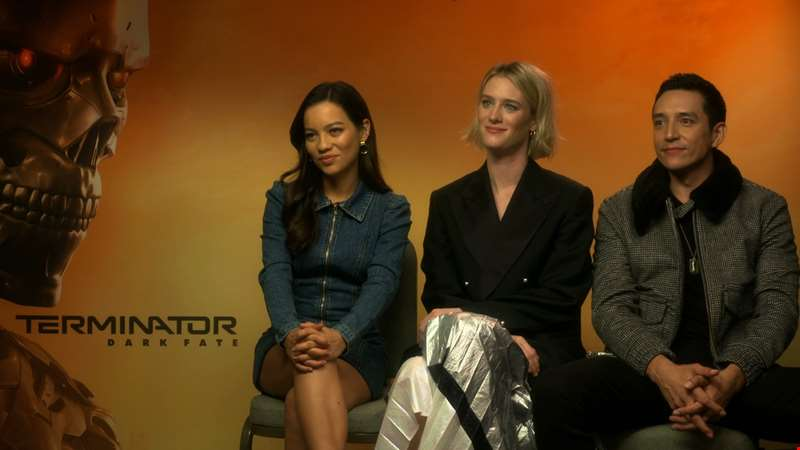 """It's a return to what made the first two movies special..."" - hmv.com talks to the cast of Terminator: Dark Fate"