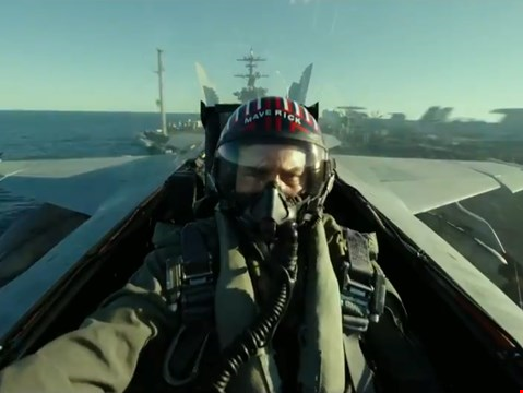 Nostalgia-fuelled first trailer for Top Gun sequel Maverick debuts online