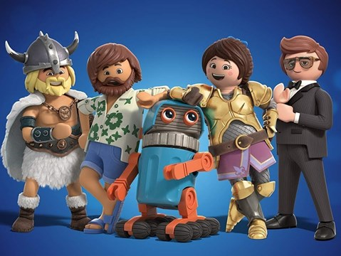 Adam Lambert and Daniel Radcliffe voice the cheerful full trailer for Playmobil: The Movie