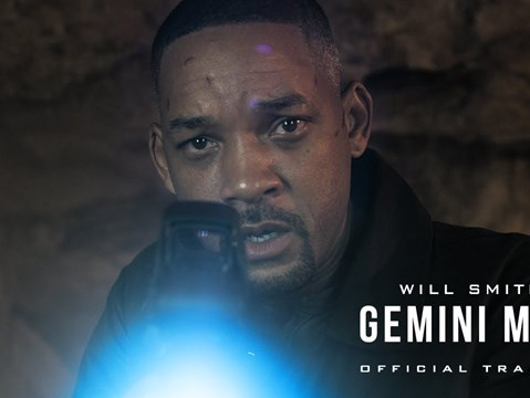 Will Smith takes on himself in the rip-roaring first trailer for Gemini Man