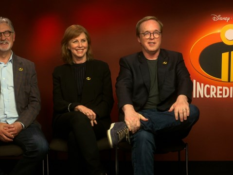 The team behind Incredibles 2 open up about making the smash-hit sequel...