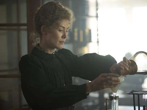 Rosamund Pike is Marie Curie in the first teaser trailer for Radioactive