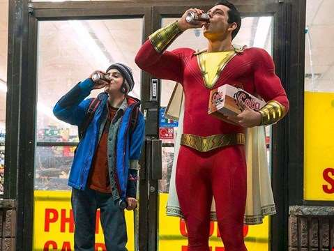 Sparky full trailer for SHAZAM! debuts online