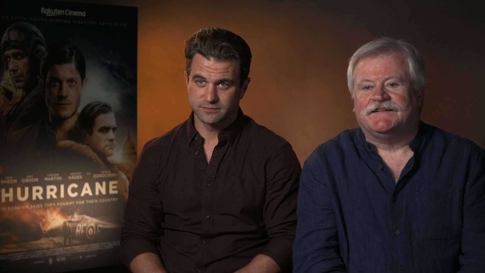 """Their story was kept suppressed for a long time..."" - hmv.com talks to Milo Gibson & David Blair about new WWII film Hurricane"