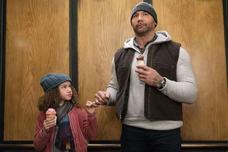 Dave Bautista stars in the slapstick first trailer for new comedy My Spy