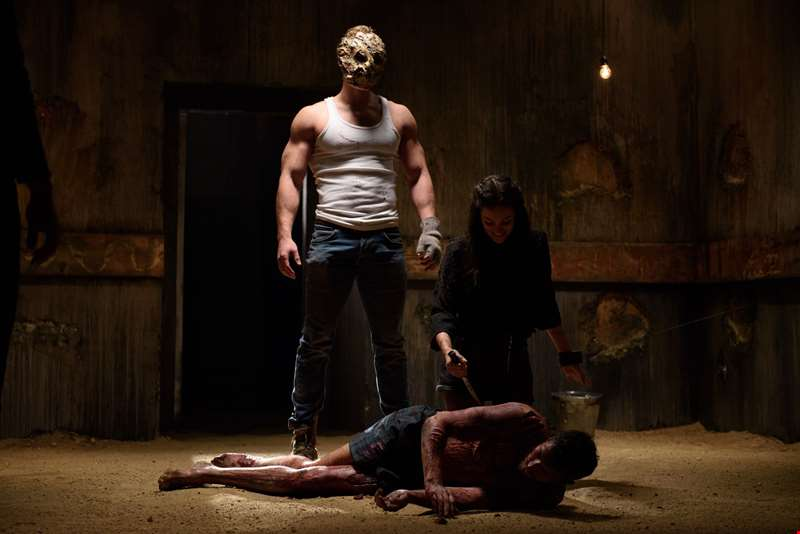 Director Giles Alderson opens up about making bloody new horror The Dare...