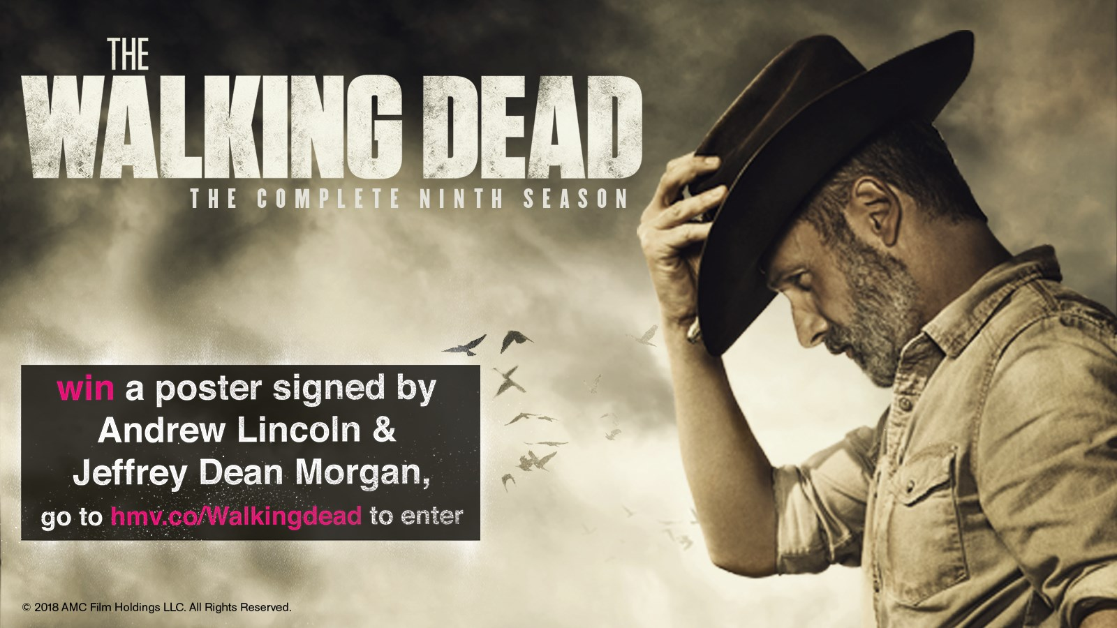 The Walking Dead Prize Draw
