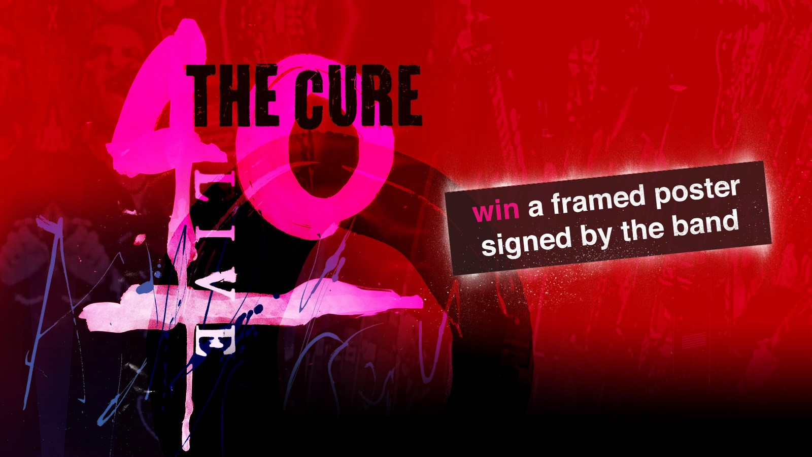 The Cure Prize Draw