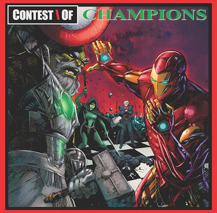 Liquid Swords (Marvel Cover)