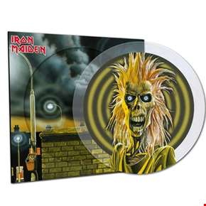 Iron Maiden - 40th Anniversary Limited Edition Crystal Clear Picture Disc Vinyl
