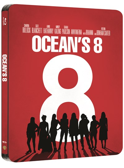 Ocean's 8 (hmv Exclusive) Limited Edition Steelbook