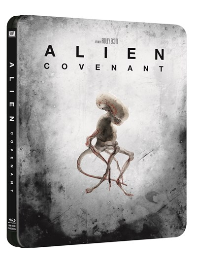 Alien: Covenant (hmv Exclusive) 4K Ultra HD Limited Edition Steelbook (Artwork TBC)