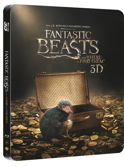 Fantastic Beasts and Where to Find Them (hmv Exclusive) Limited Edition Steelbook