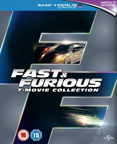 Fast & Furious - 7 Movie Collection