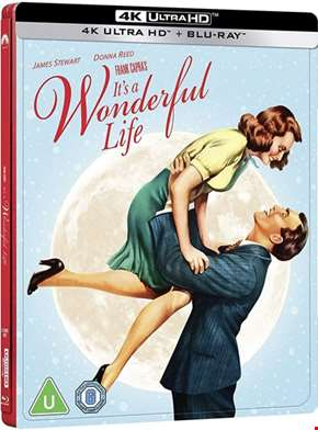 It's a Wonderful Life Limited Edition 4K Ultra HD Steelbook