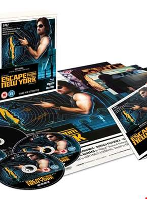 Escape from New York – Collector's Edition (4K Ultra HD and Blu-Ray)