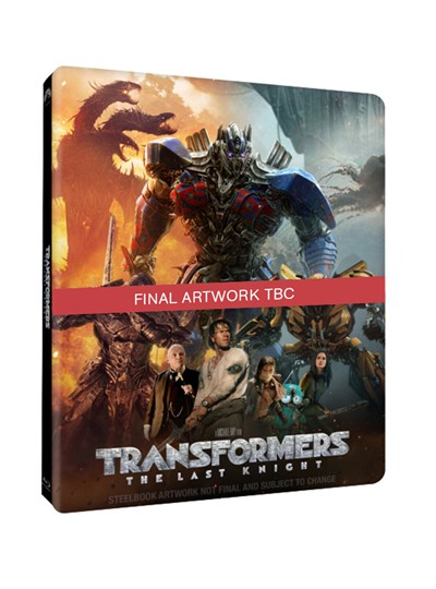 Transformers - The Last Knight (hmv Exclusive) Limited Edition Steelbook Includes 2D and 3D